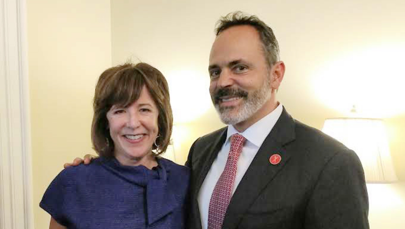 Lynn Allen, BiF CEO, and Kentucky Governor Matt Bevin